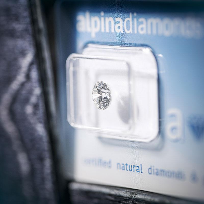 Diamant im Wert von 5390,00 €
